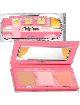 Online Only Cheeky Camper Mini Blush & Bronzer Palette by Benefit Cosmetics