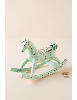 Rocking Horse Coin Bank by Anthropologie