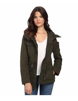 Washed Cotton Fashion Four Pocket Military W/ Hood by Levi's
