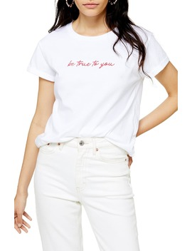 Be True To You Tee by Topshop