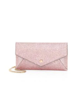 Burgess Glitter Leather Clutch by Kate Spade New York