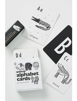 Animal Alphabet Cards by Wee Gallery