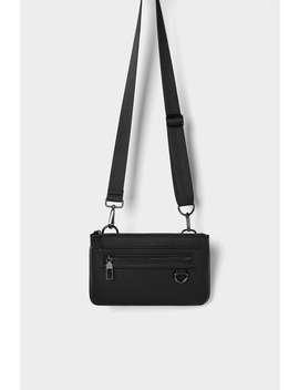 Black Combinable Mini Belt Bag by Zara