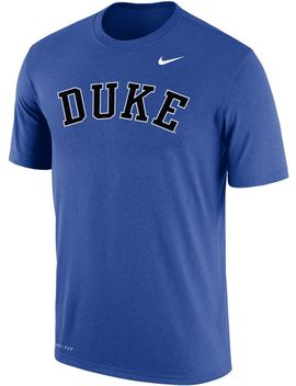 Nike Men's Duke Blue Devils Duke Blue Dri Fit Cotton Word T Shirt by Nike