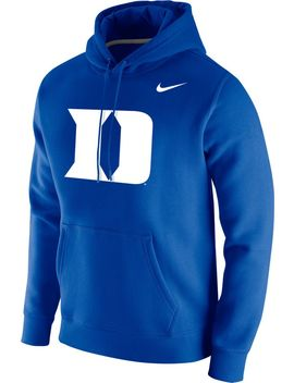 Nike Men's Duke Blue Devils Duke Blue Club Fleece Pullover Hoodie by Nike