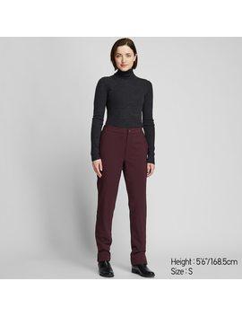 Women Heattech Warm Lined Pants by Uniqlo