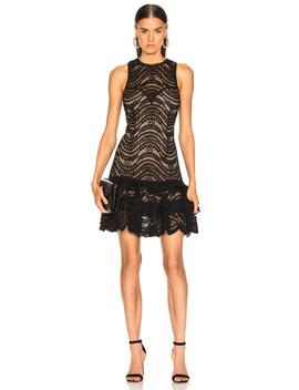 For Fwrd Sleeveless Ruffle Lace Dress by Jonathan Simkhai