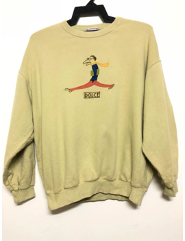 Rare!!! Ease Up Uncle Dolce Vintage Sweatshirt by Vintage  ×
