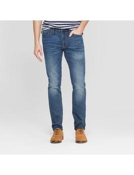 Men's Skinny Fit Jeans   Goodfellow & Co™ Denim Blue by Goodfellow & Co