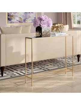 Wigington Console Table With Mirrored Top by Joss & Main