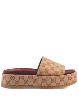Original Gg Slider Sandal For Women by Gucci