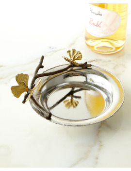 Butterfly Gingko Wine Coaster by Michael Aram