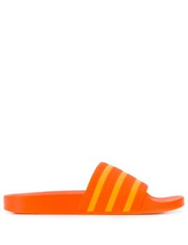 Stripe Detail Slides by Adidas