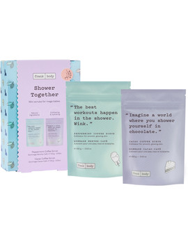 Shower Together Peppermint Mocha Kit by Frank Body