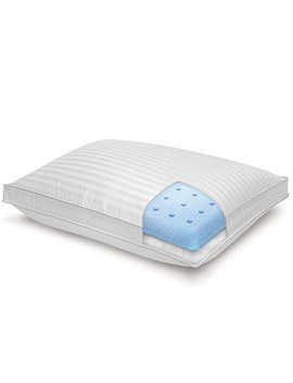 Majestic I Cool Dual Comfort 500 Thread Count Tencel® Memory Foam Down Alternative Pillow by Sensorpedic