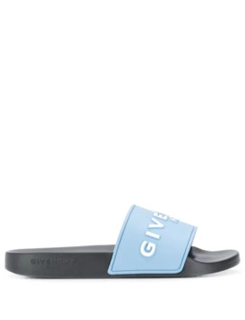 Logo Printed Sliders by Givenchy