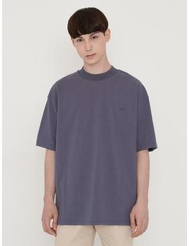 Emblem T Shirt Charcoal by Lieu Homme