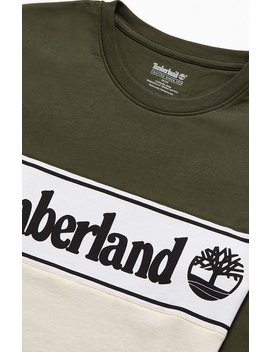 Timberland Linear Long Sleeve T Shirt by Pacsun