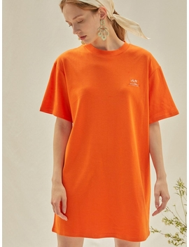 M Modern Mini Dress Orange by Anedit