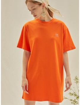 M Modern Mini Dress Orange by Anedit