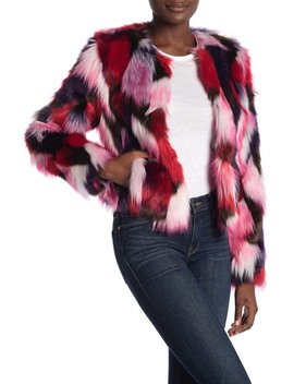 Lorren Patchwork Faux Fur Jacket by Ugg