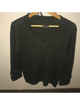 Olive Hunter Green Sweater V Beach Size Small by Nordstrom