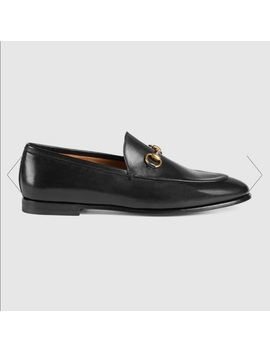 100 Percents Authentic Gucci Jordan Leather Loafers by Gucci