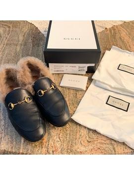 Gucci Fur Jordan Loafer Sz38 7.5 by Gucci