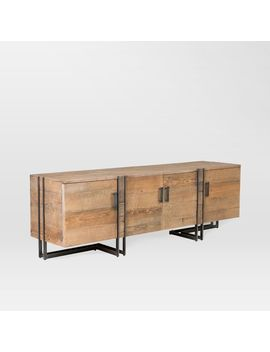 "Iron Inlay Storage Console (78"") by West Elm"