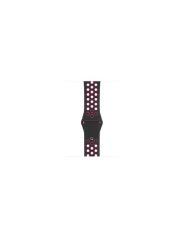 44 Mm Black/Pink Blast Nike Sport Band — S/M And M/L by Apple
