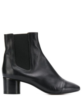 Block Heel Ankle Boots by Isabel Marant