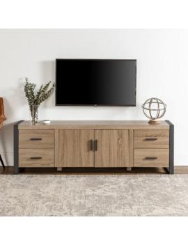 Carbon Loft Burke Urban Driftwood Tv Console   71 X 16 X 22h by Carbon Loft