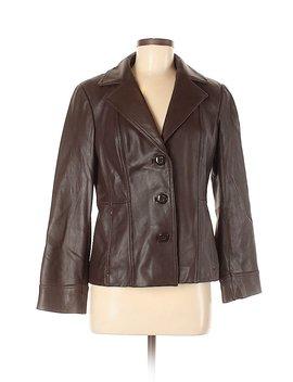 Faux Leather Jacket by Preston & York