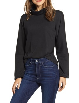 Cozy Turtleneck Sweatshirt by Caslon®