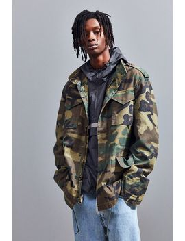 Alpha Industries M 65 Camo Defender Jacket by Alpha Industries
