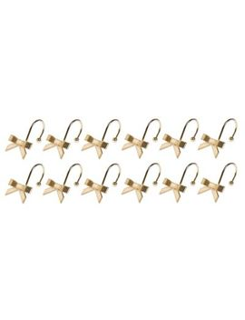 Kate Spade New York Bow Shower Curtain Hooks In Gold by Bed Bath And Beyond