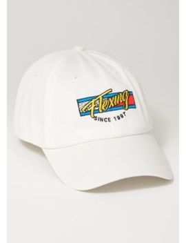 Ivory Flexing 1997 Embroidered Dad Hat by Rue21