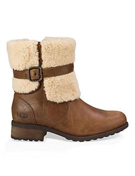 Women's Blayre Ii Shearling Cuff Suede Boots by Ugg Australia