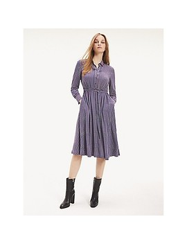Monogram Wrap Dress by Tommy Hilfiger