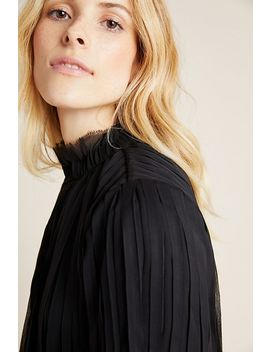 Lesa Pleated Blouse by Seen Worn Kept