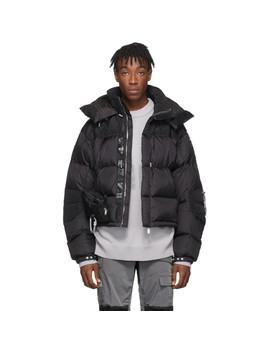 Black Down Jacket by Heliot Emil