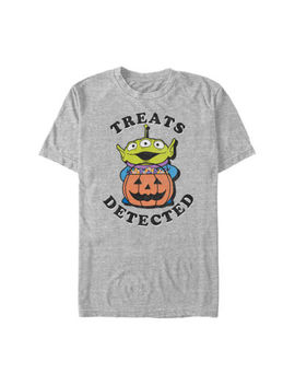 Disney Pixar Toy Story Halloween Treats Mens Crew Neck Short Sleeve Toy Story Graphic T Shirt by Fifth Sun