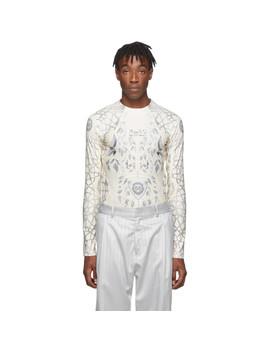 Beige & Grey Jersey Ada T Shirt by Gmbh
