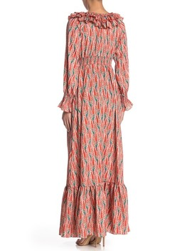 Ruffle Neckline Dress by Tov