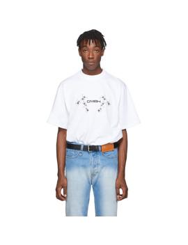 White Birk T Shirt by Gmbh