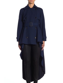 High/Low Columbo Coat by Tov