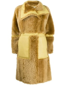 Single Breasted Shearling Coat by Acne Studios