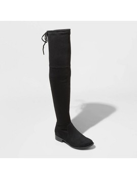 Women's Sidney Microsuede Over The Knee Boots   A New Day™ by A New Day