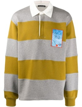 Striped Rugby Polo Shirt by Acne Studios