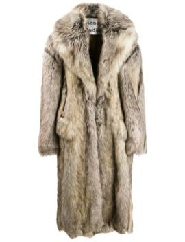 Single Breasted Faux Fur Coat by Acne Studios